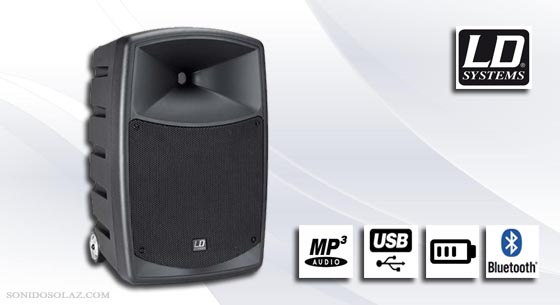 Altavoz autoamp mp3 usb