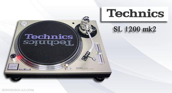 Alquiler platos technics 1200 mk2 en valencia sonido solaz - Plato discos vinilo ...